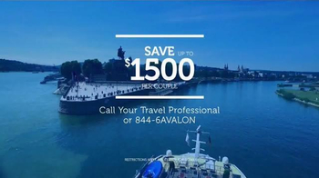Avalon Waterways TV Spot, 'For Those Who Appreciate a Great View' - Thumbnail 8