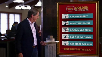 Golden Corral Take Home Box TV Spot, 'Fill Up Twice' Feat. Jeff Foxworthy - Thumbnail 1