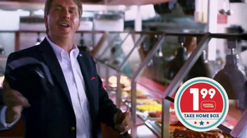Golden Corral Take Home Box TV Spot, 'Fill Up Twice' Feat. Jeff Foxworthy - Thumbnail 3