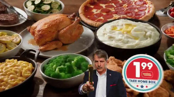 Golden Corral Take Home Box TV Spot, 'Fill Up Twice' Feat. Jeff Foxworthy - Thumbnail 5