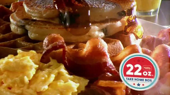 Golden Corral Take Home Box TV Spot, 'Fill Up Twice' Feat. Jeff Foxworthy - Thumbnail 6
