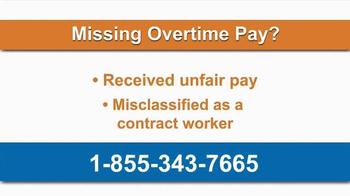 AkinMears TV Spot, 'Overtime Pay' - Thumbnail 1