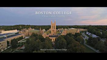 Boston College TV Spot, 'Where Will Your Journey Take You?' - Thumbnail 9