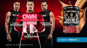 Six Star Whey Protein+ TV Spot, 'Pros Trust' Ft. Rob Gronkowski - 873 commercial airings