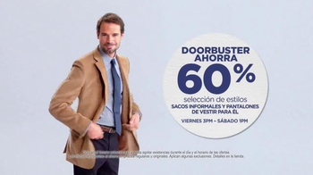 JCPenney Venta Enorme de Otoño TV Spot, 'Ropa para ella y él' [Spanish] - Thumbnail 7