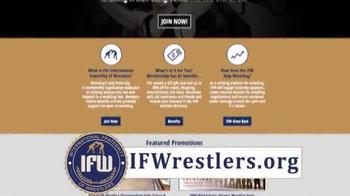 International Fraternity of Wrestlers TV Spot, 'Membership' Feat. Lee Kemp - Thumbnail 3
