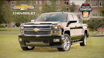 Chevrolet Silverado TV Spot, 'Who's Driving: ESPN College Gameday Week 3' - Thumbnail 10