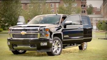 Chevrolet Silverado TV Spot, 'Who's Driving: ESPN College Gameday Week 3' - Thumbnail 6