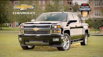 Chevrolet Silverado TV Spot, 'Who's Driving: ESPN College Gameday Week 3' - Thumbnail 9