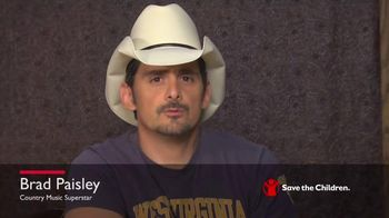 Save the Children TV Spot, 'West Virginia' Featuring Brad Paisley - 2 commercial airings