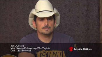 Save the Children TV Spot, 'West Virginia' Featuring Brad Paisley - Thumbnail 5