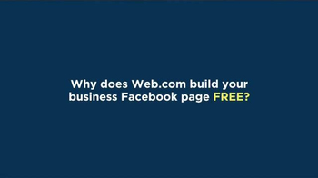 Web.com TV Spot, 'Build a Business Facebook Page' - Thumbnail 1