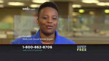 Web.com TV Spot, 'Build a Business Facebook Page' - Thumbnail 4