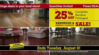 Lumber Liquidators Hardwood & Bamboo Closeout Sale TV Spot, 'Big Box' - Thumbnail 5