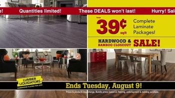 Lumber Liquidators Hardwood & Bamboo Closeout Sale TV Spot, 'Big Box' - Thumbnail 7