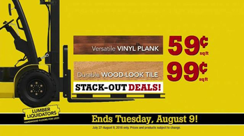 Lumber Liquidators Hardwood & Bamboo Closeout Sale TV Spot, 'Big Box' - Thumbnail 8