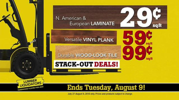 Lumber Liquidators Hardwood & Bamboo Closeout Sale TV Spot, 'Big Box' - Thumbnail 9