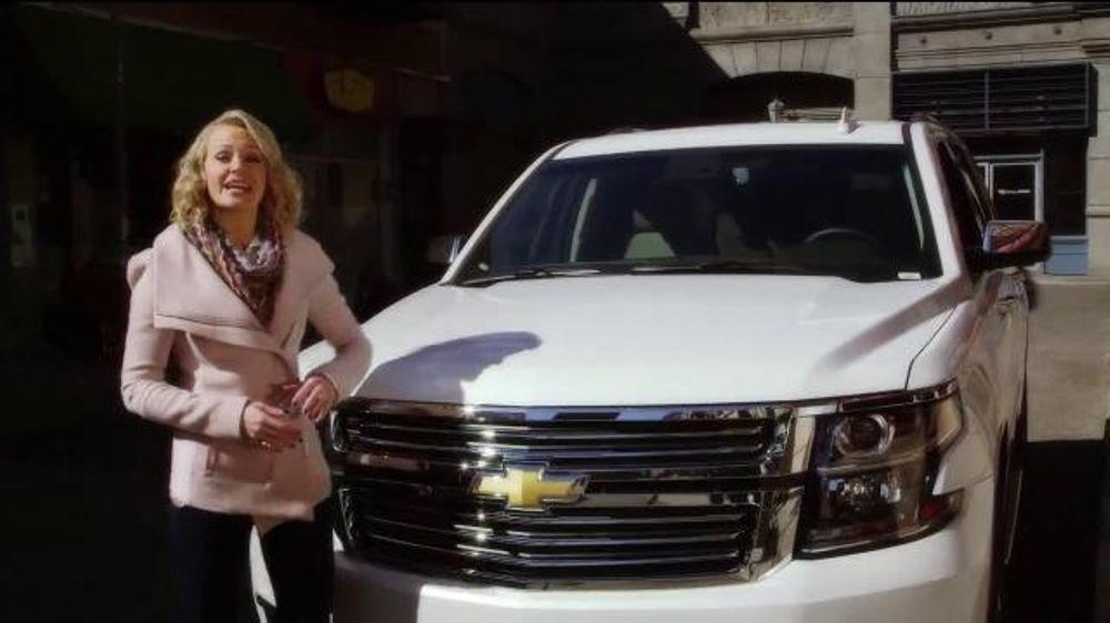 Chevrolet TV Commercial, 'CBS Los Angeles: Inside Chevy: 2016 Tahoe' - Video
