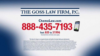 The Goss Law Firm P.C. TV Spot, 'Chemotherapy Hair Loss' - Thumbnail 6