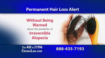 The Goss Law Firm P.C. TV Spot, 'Chemotherapy Hair Loss' - Thumbnail 3