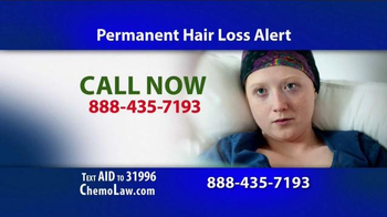 The Goss Law Firm P.C. TV Spot, 'Chemotherapy Hair Loss' - Thumbnail 4