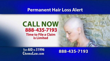 The Goss Law Firm P.C. TV Spot, 'Chemotherapy Hair Loss' - Thumbnail 5
