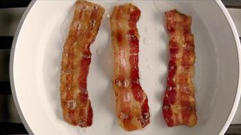 Carl's Jr. Bacon 3-Way Burger TV Spot, 'Fantasy' Featuring Genevieve Morton - Thumbnail 2
