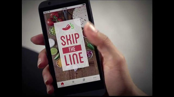Chili's App TV Spot, 'Lunch Hour' Song by Lynyrd Skynyrd - 1694 commercial airings