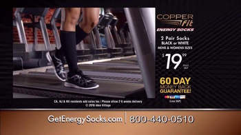 Copper Fit Energy Socks TV Spot, 'Observable Difference' - Thumbnail 5