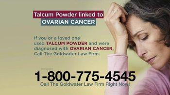 Goldwater Law Firm TV Spot, 'Talcum Powder: Attention'