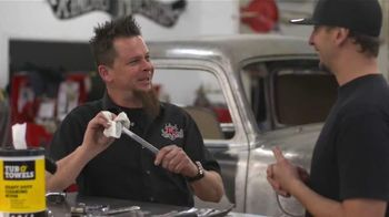 Tub O'Towels TV Spot, 'Make Shop Tools Shine' Featuring Dave Kindig - 427 commercial airings