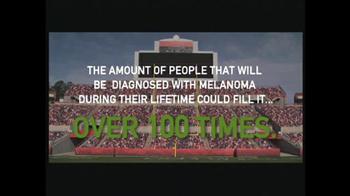Melanoma Exposed TV Spot, 'Stadium' Featuring Bill Cowher - Thumbnail 3
