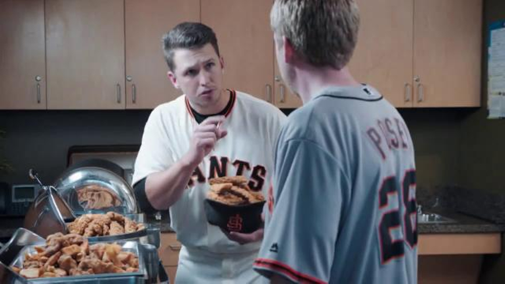 Esurance TV Commercial, 'Chicken Strips' Featuring Buster Posey