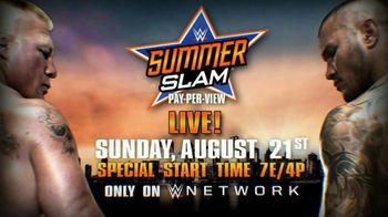 WWE Network TV Spot, '2016 SummerSlam' - 103 commercial airings