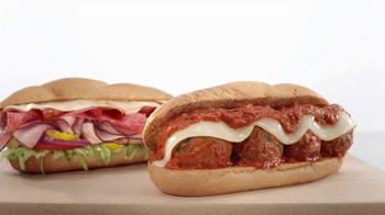 Arby's Loaded Italian and Italian Meatball TV Spot, 'Aptly Named' - Thumbnail 6