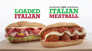 Arby's Loaded Italian and Italian Meatball TV Spot, 'Aptly Named' - 1363 commercial airings