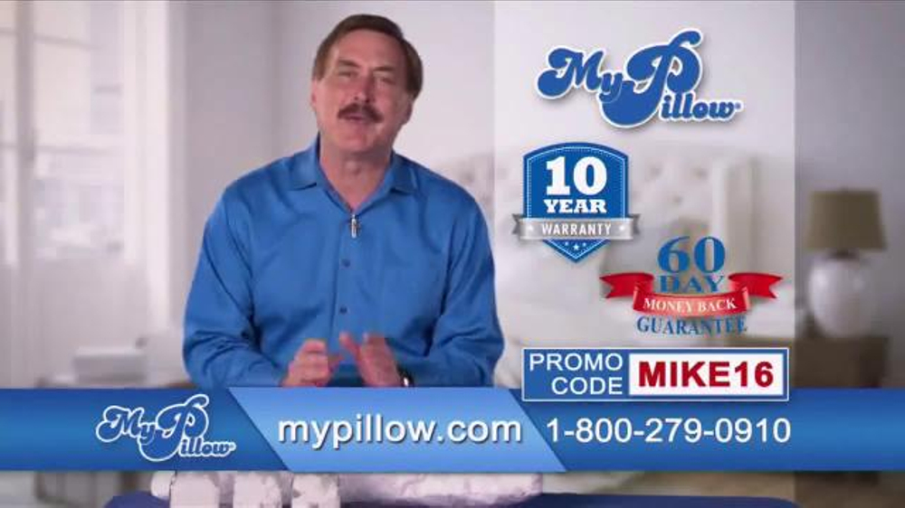 My Pillow TV Commercial, 'Buy One Get One Free'