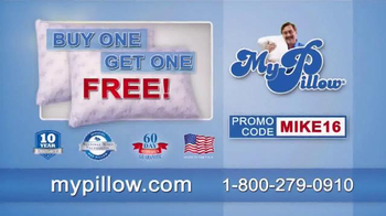 My Pillow TV Spot, 'Buy One Get One Free' - Thumbnail 5