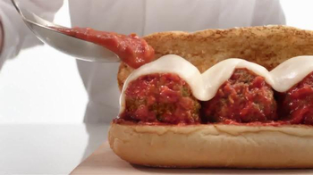 Arby's Italian Meatball Sub TV Spot, 'Little Gift' - 1816 commercial airings
