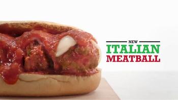 Arby's Italian Meatball Sub TV Spot, 'Little Gift' - Thumbnail 2