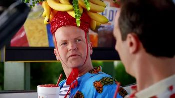 Sonic Drive-In Island Breeze Frozen Drinks TV Spot, 'Conga Line' - 1994 commercial airings