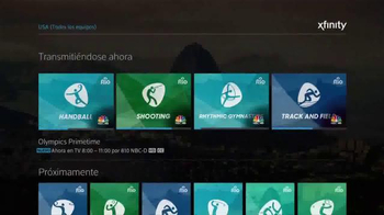 XFINITY X1 Operating System TV Spot, 'NBC: Olimpiadas Río 2016' [Spanish] - Thumbnail 5