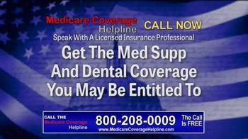 Medicare Coverage Helpline TV Spot, 'Med Supp and Dental Coverage' - Thumbnail 5