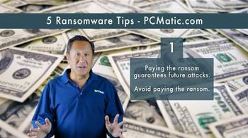 PCMatic.com TV Spot, '5 Ransomware Tips' - Thumbnail 2