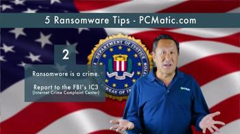 PCMatic.com TV Spot, '5 Ransomware Tips' - Thumbnail 3