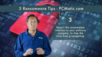 PCMatic.com TV Spot, '5 Ransomware Tips' - Thumbnail 4