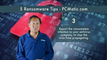 PCMatic.com TV Spot, '5 Ransomware Tips' - Thumbnail 5