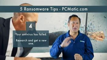 PCMatic.com TV Spot, '5 Ransomware Tips' - Thumbnail 6