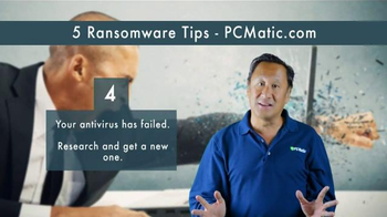 PCMatic.com TV Spot, '5 Ransomware Tips'