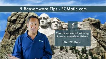 PCMatic.com TV Spot, '5 Ransomware Tips' - Thumbnail 8